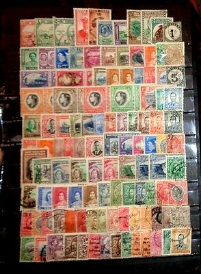 lot early British Commonwealth Country  stamp mint used