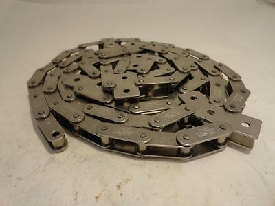 """155064 Old-Stock, Hitachi C2040-304 Roller Chain #2040, 6' Length, SS, 1"""" Pitch"""