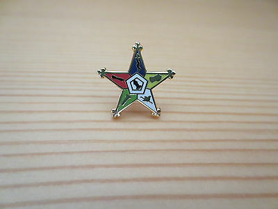 Masonic Lapel Pins Badge Mason Freemason B38 Order of the Eestern Star