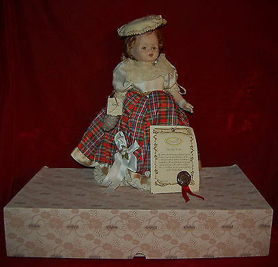 """CAPODIMONTE Doll """"Rosella"""" Made in Naples, Italy MAGNIFICENT PORCELAIN DOLL!"""