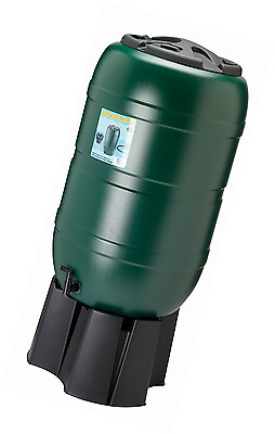 210 Litre Water Butt Complete with Stand Filler and Tap FAST FREE DELIVERY