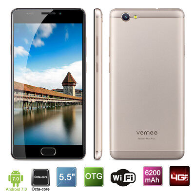 "Vernee Thor E 5"" 4G Téléphone 3+16Go Android 7.0 13MP 8-core Portable Smartphone"