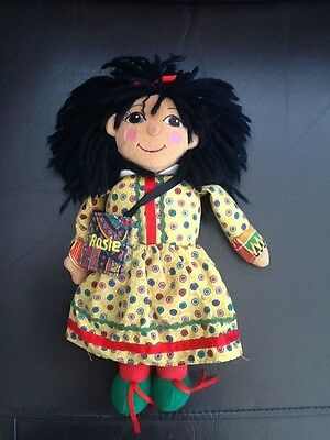 "Ragdoll Productions Rosie & Jim Rosie Ragdoll Soft Toy 10"" Tall"