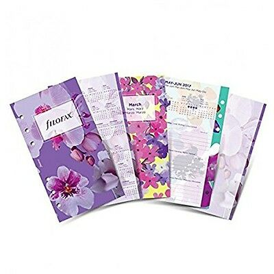 Filofax Personal Floral Illustrated Diary Pack 2018 Diary Refill (95mm x 171mm)
