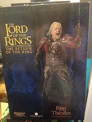 Lord of the Rings Sideshow Weta King Theoden RARE 1213/2000
