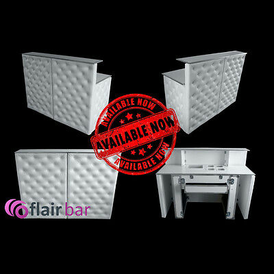Mobile Exclusive Flair Bar White  3 year warranty ! Portable Bar
