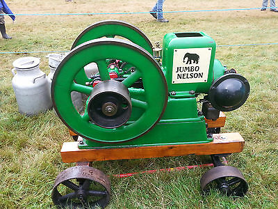 Nelson Jumbo hit and miss stationary engine