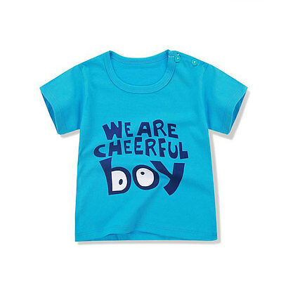 Designer Children T-Shirt Boys Girls Short Sleeve Tee Baby Clothing Cotton Shirt