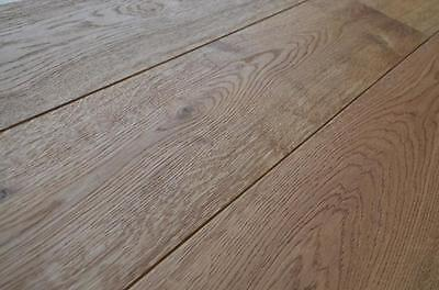 Engineered Oak Wood Flooring 18mmx4m x150mm Brushed Oiled GREAT VALUE! £25.99sqm