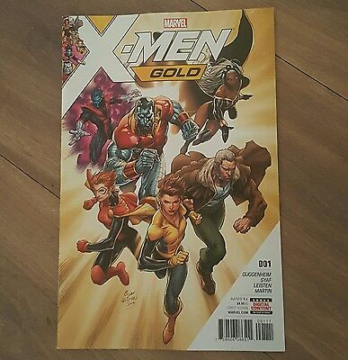 XMen Gold #1 1st printing SOLD OUT comic MARVEL CONTROVERSIAL