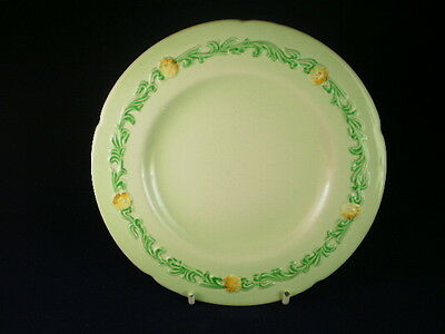 Carlton Ware Garland Buttercup Green Side Plate