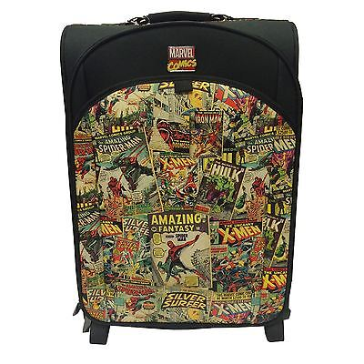 Marvel Comics Retro Trolley Bag Suitcase New Official Luggage Case