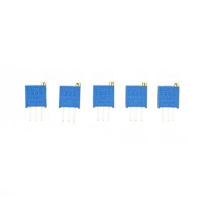 5PCS New Potentiometer Assorted Variable Resistor Resistive 3296 W 12values BS