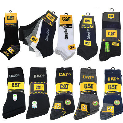 Cat Socken Caterpillar Herren Sneaker Arbeitssocken Real Work Socks 39-50