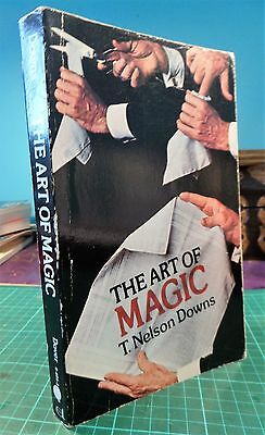 The Art of Magic T. Nelson Downs Book Tricks trick conjuring magic magicians
