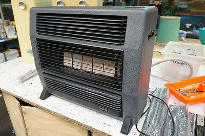 Everdure Crusader Natural Gas Heater Grey Black