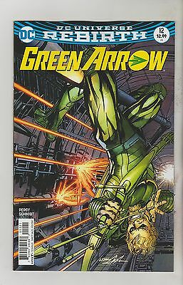 Dc Comics Green Arrow #12 February 2017 Rebirth Variant 1St Print Nm