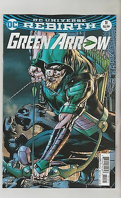 Dc Comics Green Arrow #11 January 2017 Rebirth Neal Adams Variant 1St Print Nm
