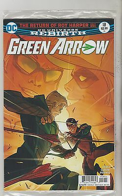 Dc Comics Green Arrow #18 May 2017 Rebirth 1St Print Nm
