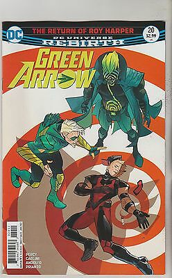 Dc Comics Green Arrow #20 June 2017 Rebirth 1St Print Nm