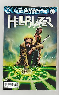 Dc Comics Hellblazer #5 February 2017 Rebirth 1St Print Nm