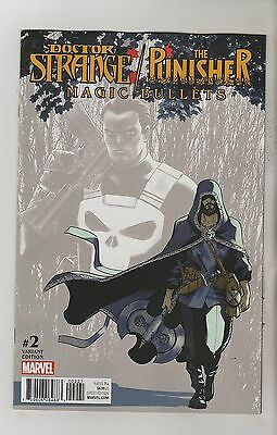 Marvel Comics Doctor Strange Punisher Magic Bullets #2 March 2017 Variant Nm