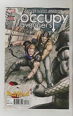 Marvel Comics Occupy Avengers #3 March 2017 1St Print Nm