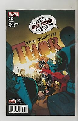 Marvel Comics Mighty Thor #10 October 2016 1St Print Nm