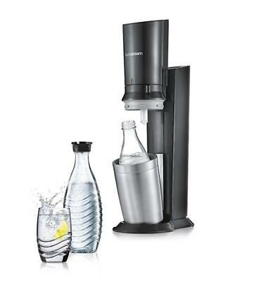 Sodastream Crystal 2.0 Super Spar Set Wassersprudler + Sirup + GlasKaraffe +CO2