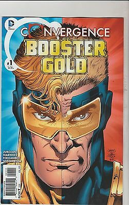 Dc Comics Convergence Booster Gold #1 June 2015 1St Print Nm