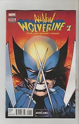 Marvel Comics All New Wolverine #1 January 2016 1St Print Nm