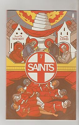 Image Comics Saints #7 April 2016 1St Print Nm