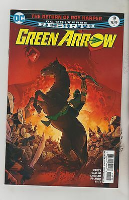 Dc Comics Green Arrow #19 May 2017 Rebirth 1St Print Nm