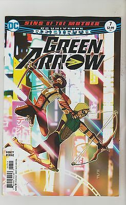 Dc Comics Green Arrow #7 November 2016 Rebirth 1St Print Nm