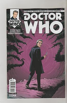 Titan Comics Doctor Who Twelfth Doctor Year Two #10 October 2016 Variant D Nm