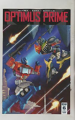 Idw Comics Optimus Prime #6 April 2016 Subs Variant A 1St Print Nm