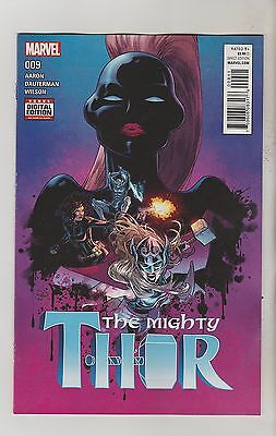 Marvel Comics Mighty Thor #9 September 2016 1St Print Nm