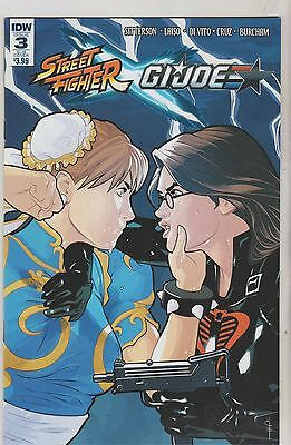 Idw Comics Street Fighter X Gi Joe #3 May 2016 Subs Variant Nm