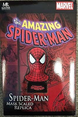 2007 Master Replicas Amazing Spider-Man Scaled Mask Bust! MIB!