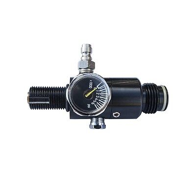 ALEKO Paintball 3000 Psi HPA Air Tank Regulator Output With 1.8k And 5k Disk