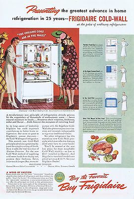 1940 Advertisement - FRIGIDAIRE COLD-WALL IMPERIAL 6-40 REFRIGERATOR