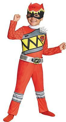Red Power Rangers Dino Charge Classic Costume Dg82734