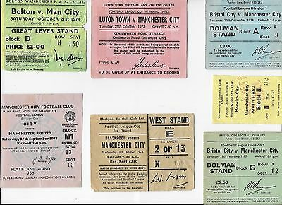 TICKET 1975/76 Manchester City v Man Utd League