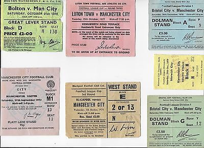 TICKET 1978/79 Bolton v Manchester City League