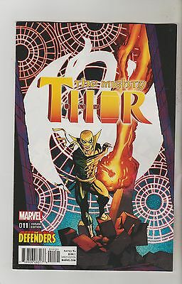 Marvel Comics Mighty Thor #11 November 2016 Defenders Variant 1St Print Nm