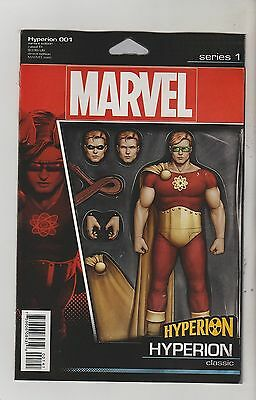Marvel Comics Hyperion #1 May 2016 Action Figure Variant 1St Print Nm