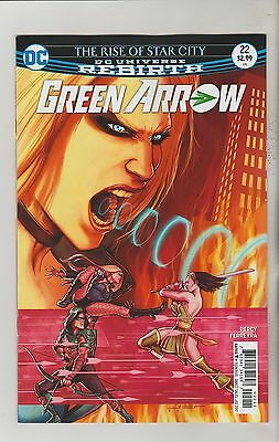 Dc Comics Green Arrow #22 July 2017 Rebirth 1St Print Nm
