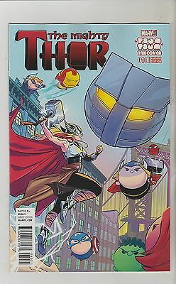 Marvel Comics Mighty Thor #10 October 2016 Tsum Tsum Variant 1St Print Nm