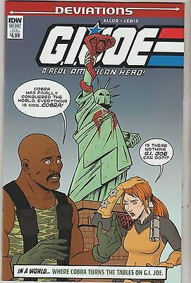 Idw Comics Deviations G.i. Joe One Shot March 2016 Subs Variant 1St Print Nm