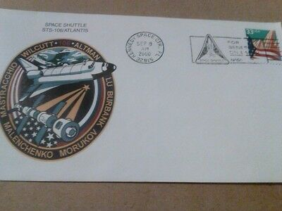 2000 Atlantis space shuttle Kennedy Space Center Florida  FDC Space NASA